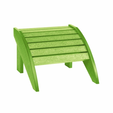 CR Plastic Products - Generations Footstool in Kiwi Lime - F01-17