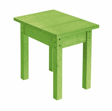 CR Plastic Products - Generations Small Side Table in Kiwi Lime - T01-17
