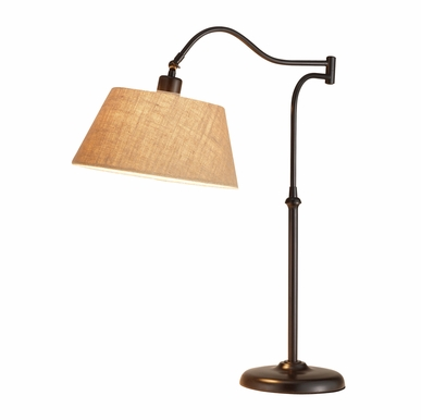 Adesso - Rodeo Table Lamp in Antique Bronze Finish - 3348-26