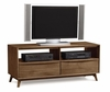 "Copeland Furniture - Catalina Tv Stand 53"" In Natural Walnut - 5-CAL-49-04"