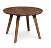 "Copeland Furniture - Catalina Side Table 13 3/4"" In Natural Walnut - 5-CAL-25-04"