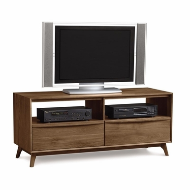 "Copeland Furniture - Catalina Tv Stand 66"" In Natural Walnut - 5-CAL-50-04"