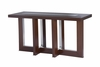 Allan Copley Designs - Bridget Rectangular Console Table with Glass Inset - 31104-03