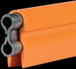 11001     110 Amp Bar - Orange Cover - 5 Ft