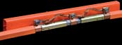 28103    Expansion Joint - 120 Amp Rolled Copper Bar - W/ Crimped Splice