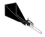 FE-2JNN3    Pick-up Guide - 3 Inch Wide - Indoors