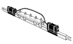 FE-758-2H10-SC-G   90 Amp Geen (Outdoor) Cover Exp Joint