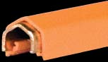 28655    120 Amp Rolled Copper Bar - 15 Ft - W/ Bolted Splice