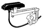 C-100-V5       100A Single Collector Shoe/Arm Assy - Vertical Mount Systems