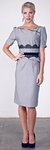 """""""Marie"""" Modest Dresses in Grey"""