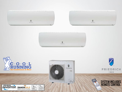 Ductless Mini Split Systems, Multi Zone Components