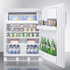 ACCUCOLD AL650L Freestanding refrigerator-freezer in ADA counter height with lock