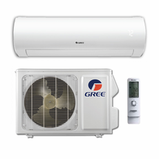 GREE Sapphire SAP12HP230V1A Ductless Mini Split w/ Inverter Heat Pump, 12,000 BTU, Energy Star Rated, SEER 30.5, 230/208 Volt, -22 Degrees Capability, Single Zone Includes Indoor Wall Unit and Outdoor Condenser, Line Sets and Accessories Sold Separately