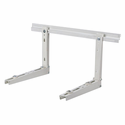 Diversitech DIV230B2L Hef-T-Bracket 21 in. Type 2 Large Wall Mounting Bracket for Ductless Mini Split Outdoor Units, Load Rating Per Arm: 220 lbs.