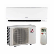 Mitsubishi MZ-GL09NA 9,000 BTU 24.6 SEER Wall Mount Ductless Mini Split Air Conditioner Heat Pump 208-230V with Outdoor Condenser and Remote, Line Sets and Accessories Sold Separately