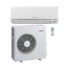 Mitsubishi MZ-GL24NA 24,000 BTU 20.5 SEER Wall Mount Ductless Mini Split Air Conditioner Heat Pump 208-230V with Outdoor Condenser and Remote, Line Sets and Accessories Sold Separately