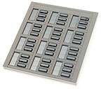Norstar M536 36 Button Exp Module for 5000 Series Phones.  ONE YEAR ADVANCE REPLACEMENT WARRANTY.