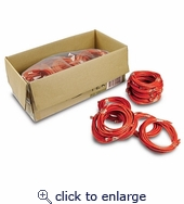 It Pro Pack CAT5e Patch Cables 14ft Red 30pk