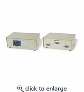 2 To 1 VGA Switchbox DB15