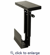 CPU Holder Under Desk Mount Small Cs-11f