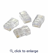 Ez-RJ45 Cat5/5e Connectors 50pcs