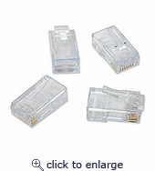 Ez-RJ45 CAT6 Connectors 50pcs