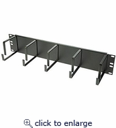 2u Cable Management Rack 19in
