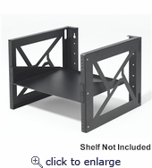 8U wall mount rack
