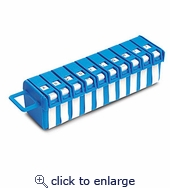 Wire Label Dispenser A-j 760 Markers .25 In. X1.25 In.