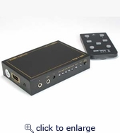 5Way (5-in/1-out) HDMI Switch with IR Extension