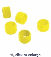 Sealsmart Color Bands 20 PC. Clamshell Yellow