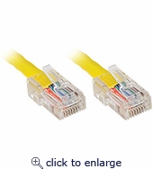 CAT5e Patch Cable 25ft Yellow
