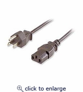 Computer Or Monitor Power Cable 6ft