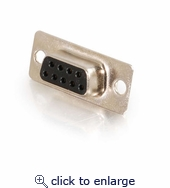 DB9 Female D-Sub Solder Connector