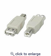 USB Adapter A Female To B Male
