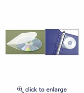 CD Binder Holder 50pk Clear
