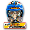 Vintage Prudhomme Helmet Tin Sign
