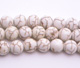 White Howlite Round 8mm