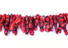 Red Coral Toothpick Shape