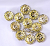 Gold Fill Spacers Finding 10mm 100pcs