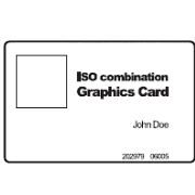 1508-017 HID Format ISO Printable Card