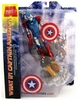 Marvel Select Iron Man Captain America Action Figure