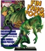 Classic Marvel Figurine Collection Magazine Special Fin Fang Foom