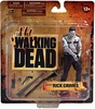 McFarlane Toys The Walking Dead TV Series Deputy Rick Grimes Bloody Black & White Figure