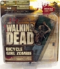 McFarlane Toys The Walking Dead TV Series Bicycle Girl Zombie Figure