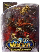 World of Warcraft Dwarven King Magni Bronzebeard Figure