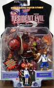 Toy Biz Capcom Resident Evil 2 William Birkin and Sherry Figures