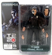 NECA Terminator 2 T-1000 Steel Mill Action Figure