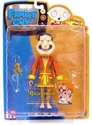 Mezco Family Guy Series 8 Quagmire in Robe Action Figure