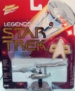 Star Trek Johnny Lightning Enterprise 1701 Battle Damage